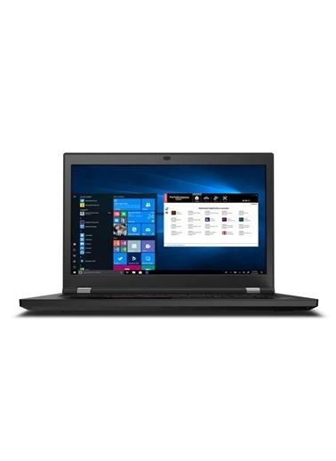 """Lenovo Thinkpad P17 20Sn0033Tx İ7-10750H05 128Gb 1Tb Ssd + 1 Tb Ssd W10Pro Rtx3000 17.3"""" Fhd Renkli"""